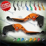 Folding Extendable CNC Brake Clutch Levers Fit For Kawasaki ZX6R 2007-2012,  ZX10R 2006-2012,  Z1000 2007-2012,  Z1000SX/NINJA 1