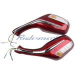 A pair of Rearview Mirrors (left and right) Rearview Mirror for 50cc - 250cc Scooter