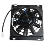Electirc Radiator Cooling Fan for 200cc-250cc Vertical Water-cooled Engine ATVs & Dirt Bikes
