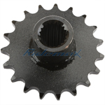 19 Tooth 428 Chain Front Engine Sprocket for GY6 150cc ATVs, Go Karts