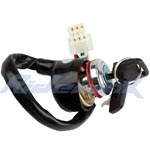 6-Wire Ignition Key Switch for ATVs
