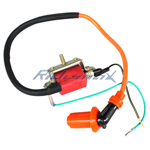Performance Ignition Coil for 50cc-125cc ATVs, Dirt Bikes, Go Karts Horizontal Engine
