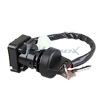 X-PRO<sup>®</sup> Ignition Key Switch Assembly for Suzuki LT-80 LT80 LT 80 1996-2006 ATVs,free shipping!