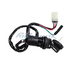 Ignition Key Switch Assembly for HONDA 250 EX TRX250EX TRX 250 EX 2001 2002 2003 2004 2005 ATVs