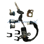 4-Wire Ignition Key Switch Assembly for 150cc & 250cc Scooter