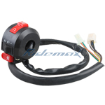 3-Function Left Switch Assembly for 50cc 70cc 90cc 110cc 125cc ATVs