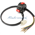 3-Function ATV Left Switch Assembly for 50cc-250cc ATVs