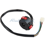 Left Handlebar Switch Assembly for 50cc 70cc 90cc 110cc 125cc ATV
