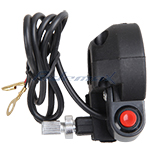 Throttle Clamp Kill ON/OFF Switch 49CC Mini Dirt Bikes Handlebar