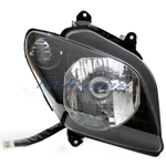 Right Headlight Assembly for MC-54-150/250 Scooter