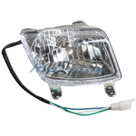 Left Headlight Assembly for 50cc 70cc 90cc 110cc 125cc ATVs