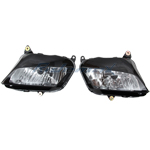 Clear Headlight Assembly for Honda CBR600RR CBR 600 RR 2007 2008 2009 Head Light,free shipping!