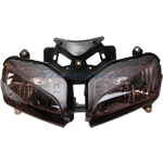 Smoke Headlight Head light HONDA CBR1000RR CBR1000 2004-2007