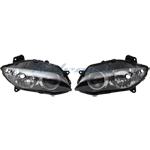 Clear Headlight Head light YAMAHA YZF-R1 YZF R1 YZFR1 2004 2005 2006 Lamp,free shipping!