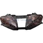 Smoke Headlight Head light for YAMAHA YZF-R6 YZF R6 2008 2009