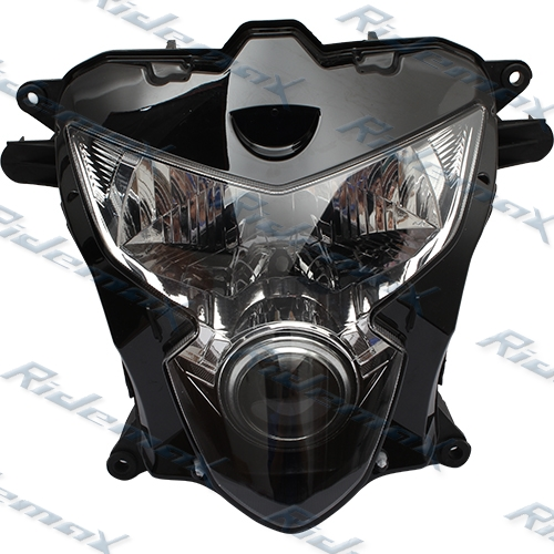 Clear Headlight Head light Assembly for Suzuki GSXR600 GSX-R 750 2004 2005 K4 Headlamp,free shipping!