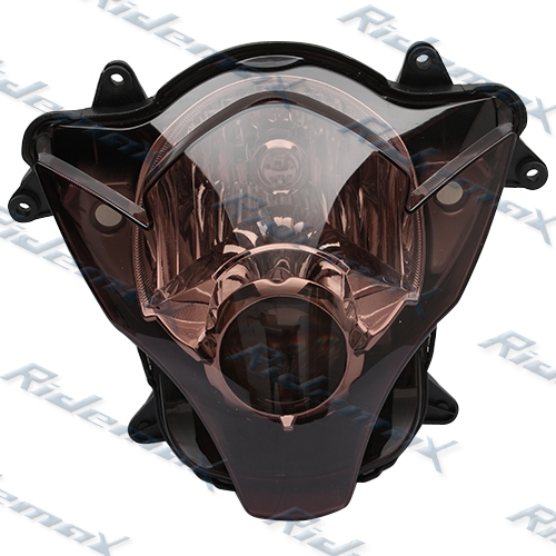 Smoke Suzuki 2006 2007 GSX-R 600 GSX-R 750 K6 Headlight Head Light