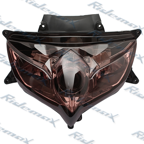 Smoke Suzuki 2008 2009 GSXR 600 GSX-R750 Headlight Assembly Headlamp