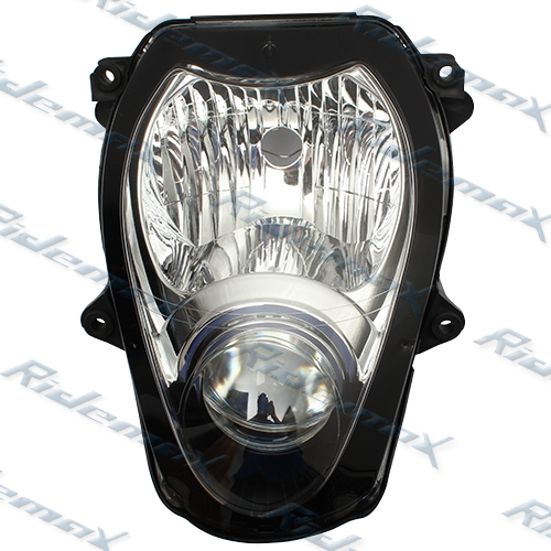 Clear Suzuki Hayabusa GSXR 1300 Headlight Assembly Headlamp 97 98 99-07