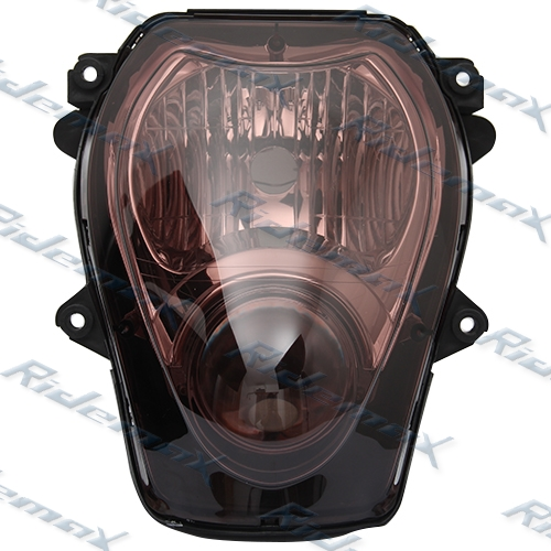 Smoke Suzuki Hayabusa GSXR 1300 Headlight Assembly Headlamp 97 98 99-07