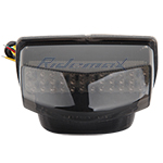 Honda CBR600RR F5 07-12 Smoke LED Tail Lights