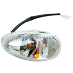 Front Left Turn Signal Light for 150cc & 250cc Roketa MC-54 Scooters