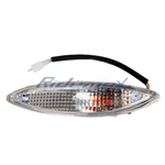 Left Front Turn Signal Light for GY6 50cc Scooter, Moped