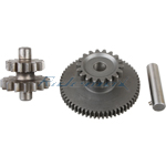 18 Teeth Dual Gear for 200-250cc Vertical ATVs & Dirt Bikes