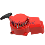 Pull Starter for 2-stroke 47cc & 49cc Pocket Bikes, ATVs - Red