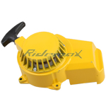 X-PRO<sup>®</sup> Pull Starter for 2-stroke 47cc & 49cc Pocket Bikes, ATVs - Yellow