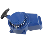 Pull Starter for 2-stroke 47cc & 49cc Pocket Bike, ATVs - Blue