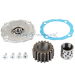 18 Tooth Clutch Cover Gear Kit for 50cc-125cc ATV, Dirt bike & Gokart
