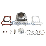 Cylinder Body Piston Gasket Ring Kit Assembly GY6 50cc Mopeds/Scooters