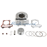 Cylinder Body Piston Gasket Ring Set Assembly for GY6 150cc Scooters, ATVs and Go Karts