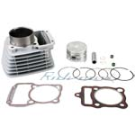 X-PRO<sup>®</sup> 63.5mm Cylinder Body Piston Pin Gasket Ring Kit Assembly for 200cc Air Cooled ATVs and Dirt Bikes
