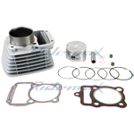 Cylinder Body Piston Pin Gasket Ring Assembly for 250cc Air Cooled ATVs and Dirt Bikes
