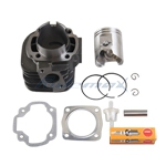 Cylinder Assy for POLARIS 90 SPORTSMAN 90CC CYLINDER PISTON KIT PIN CLIPS GASKETS 2001 - 2006,free shipping!