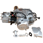 110cc 4-stroke Engine with Automatic Transmission w/Reverse, Electric Start