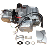 125cc 4-stroke Engine with Automatic Transmission w/Reverse ATVs, Go Karts