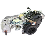 150cc 4-stroke GY6 Engine with Automatic Transmission, Build-in Reverse,free shipping!