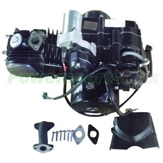125cc 4-stroke Engine with Semi-Auto Transmission w/Reverse ... on