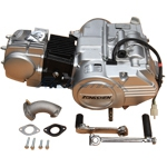 125cc 4-stroke Zongshen Dirt Bike Engine with Manual Transmission, Kick Start