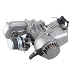 49CC PULL-START 2-STROKE ENGINE with TRANSMISSION for POCKET MINI BIKE/SCOOTER,Free shipping!
