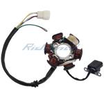 6-Coil Magneto Stator Coil for 50cc 70cc 90cc 110cc 125cc ATVs & Go Karts