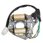 2-Coil Half-Wave Magneto Stator for 50cc-125cc Electric Start ATVs & Dirt Bikes & Go Karts