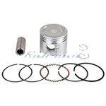 Piston Pin Ring Set Assembly for 50cc Horizontal ATVs and Dirt Bikes