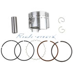 X-PRO<sup>®</sup> 47mm Piston Ring Pin Kit Assembly for 70cc Horizontal Engine Dirt Bikes & ATVs