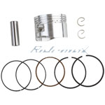 52mm Piston Pin Ring Kit for 110cc Horizontal Engine Dirt Bikes,Go Karts & ATVs
