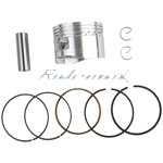 Piston Pin Ring Set Kit for 125cc Horizontal Engine Dirt Bikes,Go Karts & ATVs