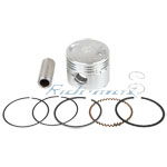 39mm Piston Rings Kit Assembly for 50cc Scooters Moped